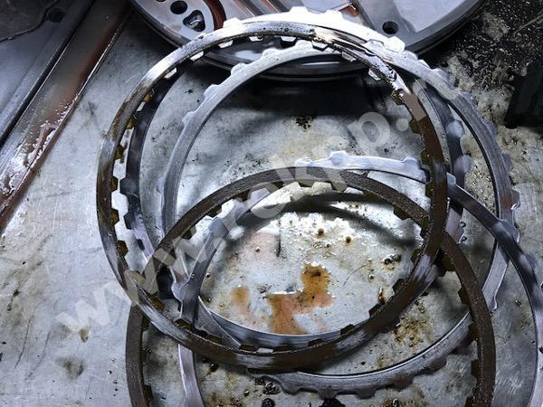 Фрикционные и стальные диски